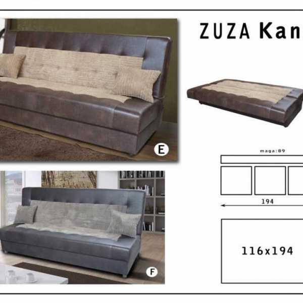 Zuza kanapé
