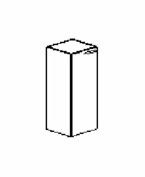 Silver irodabútor-irodai-négyrendezős-keskeny-zárt-szekrény