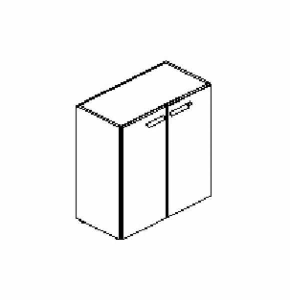 Silver irodabútor-irodai-kétajtós-szekrény