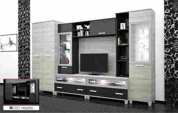 Dubai nappali szekrénysor