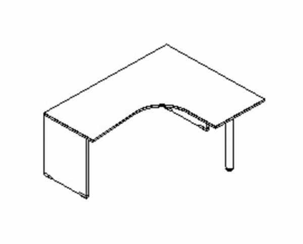 Silver irodabútor-íróasztal