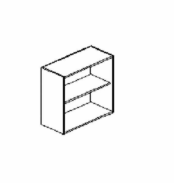 Silver irodabútor-irodai-nyitott-szekrény
