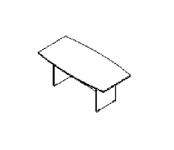 Silver irodabútor-tárgyalóasztal