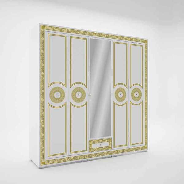 Versailles tükrös nyiló ajtós gardrób