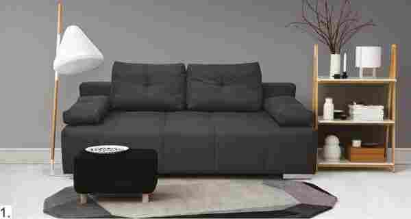 Yellow kanapé